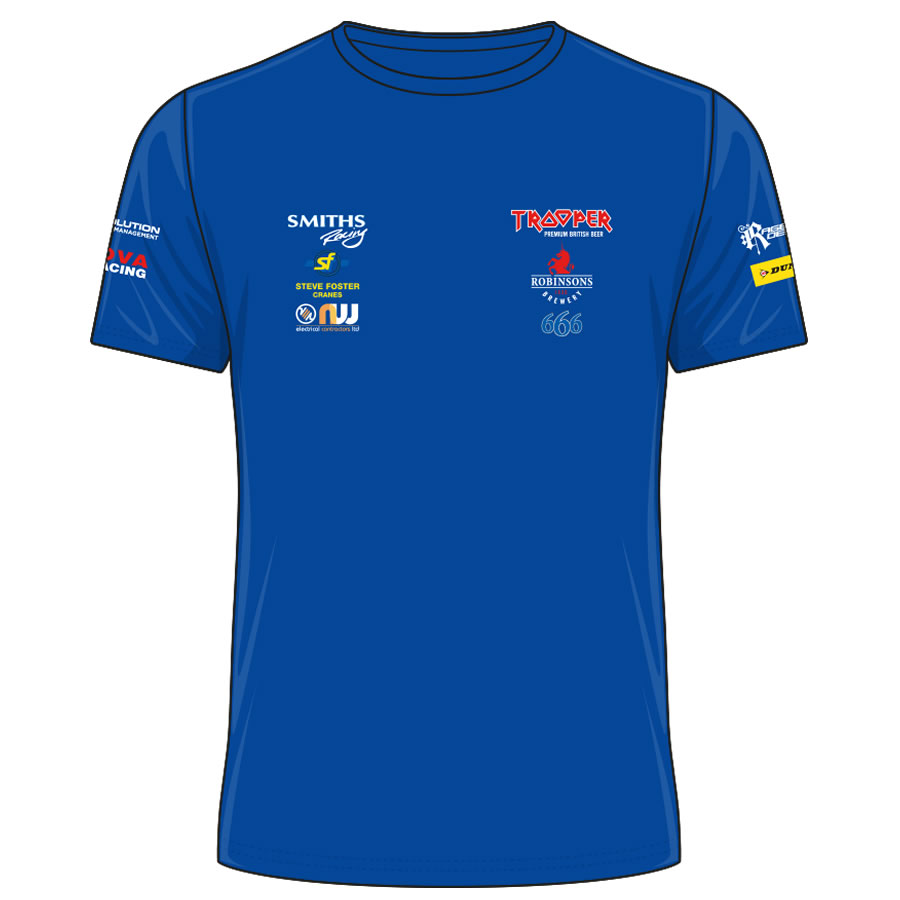 17PHT-ATS - Peter Hickman Trooper T-Shirt Blue