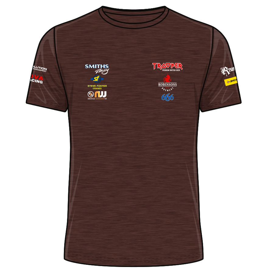 17PHT-ATS-RT - Peter Hickman Trooper T-Shirt Russet