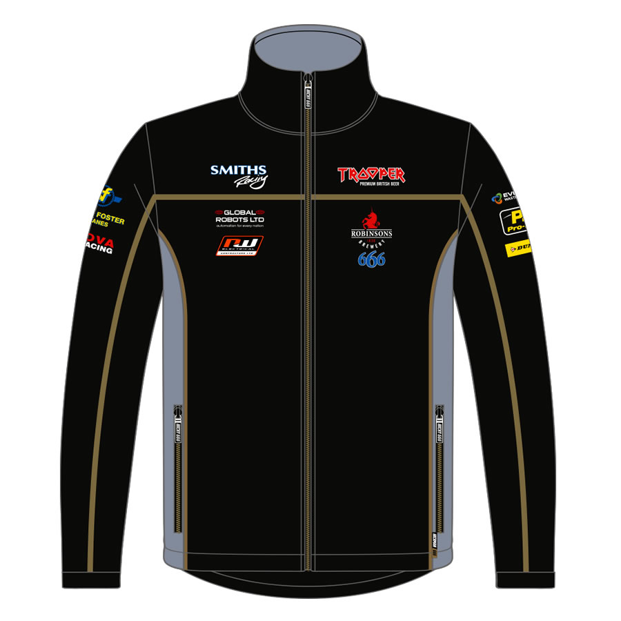 18PHT-ASSJ - Official Peter Hickman Trooper Softshell Jacket